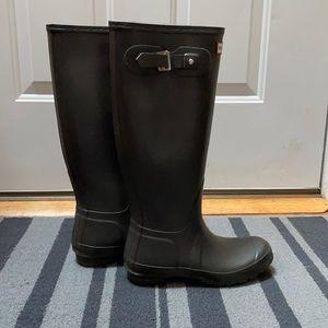 Hunter Original Tall Brown Boots